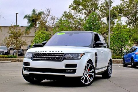 Certified Pre-Owned 2017 Land Rover Range Rover SVAutobiography