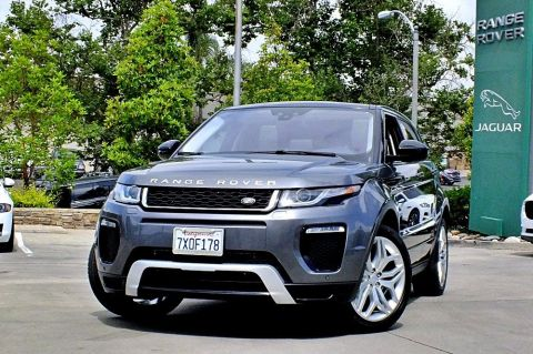 Certified Pre-Owned 2017 Land Rover Range Rover Evoque HSE Dynamic
